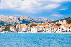 Baska, Krk, Croatia, Europe. Stock Images