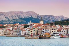 Baska, Krk, Croatia, Europe. Stock Photo