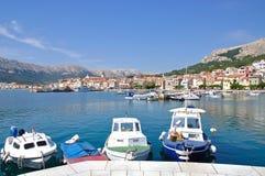 Baska,Krk Island,Croatia Royalty Free Stock Photos