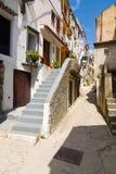 Baska, Krk Island, Croatia. Architecture, Baska Town, Krk Island, Croatia stock images