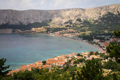 Baska on Krk Island, Croatia Stock Images