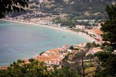 Baska on Krk Island, Croatia Stock Photos