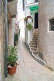Baska, Krk Island, Croatia. Small street in Baska, Krk Island, Croatia stock images
