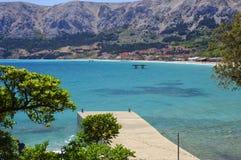Baska Laguna, Kroatien Stockfotografie