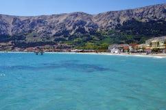 Baska Laguna, Kroatien Lizenzfreie Stockfotografie
