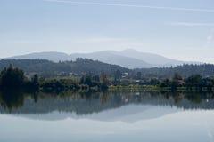 Baska lake Stock Images