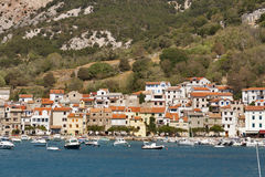 Baska seafront Royalty Free Stock Images