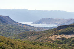 Baska valley, Croatia. Stock Images
