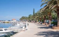 Baska Voda, Makarska Riviera, Dalmatien, Kroatien Lizenzfreie Stockfotos