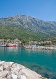 Baska Voda, Makarska Riviera, Dalmatien, Kroatien Stockbilder