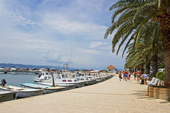 Baska Voda Marina Royalty Free Stock Image