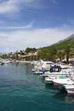 Baska Voda Marina Royalty Free Stock Images