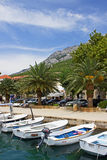 Baska Voda Marina Royalty Free Stock Photo