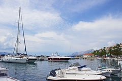 Baska Voda Marina Stock Photography