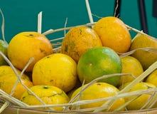 baske橙色泰国 免版税库存照片