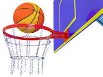 Baske do basquetebol ilustração royalty free