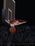 Baskeball Swish Royalty Free Stock Images