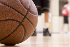 basketövning Arkivfoto