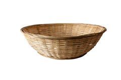 Basket. Isolated on white background Stock Photography