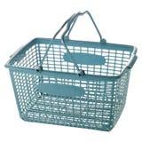 Basket. Empty shopping basket on white background Royalty Free Stock Image