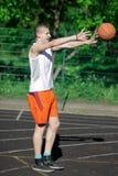 Basket. Royaltyfria Bilder