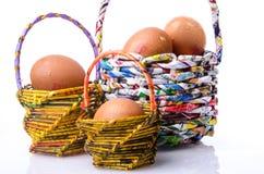 Free Basket And Egg Stock Image - 40793611