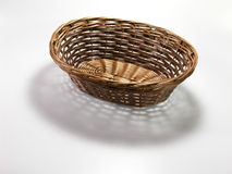Basket And Shadow Royalty Free Stock Image