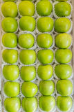 Basket of apple Granny Smith Royalty Free Stock Image
