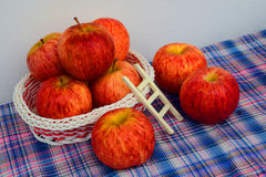 A basket of apple Royalty Free Stock Image
