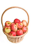 Basket of Apples Stock Photos