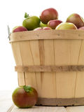 Basket of Apples Stock Photo