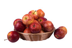 Basket with apples Royalty Free Stock Image