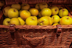 Basket of apples Royalty Free Stock Photography