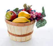 Basket of autumn fruit Royalty Free Stock Photos