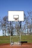 Basket backboard Royalty Free Stock Photography