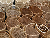 Basket background Stock Photography