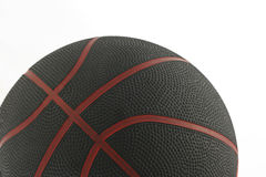 Basket ball 1. Black and red Basket ball on white Royalty Free Stock Images