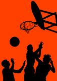 basket-ball Photographie stock libre de droits