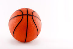 Basket ball. A basket ball isolated with a white background Stock Photo