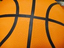 Basket ball. Orange basket ball close up Stock Images