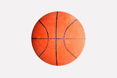 Basket Ball. Close up of basket ball, sport equipment royalty free stock photography