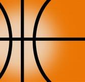 Basket ball. Orange and black abstract illustration Stock Photos