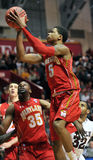 Basket-ball 2012 de NCAA - configuration vers le haut Photo libre de droits