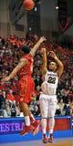 Basket-ball 2012 de NCAA - long cavalier Photo libre de droits