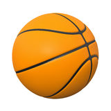 Basket ball 3d. Orange basket ball 3d render illustration Stock Photography