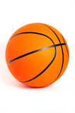 Basket ball. Close-up of a basket ball over a white background Stock Photo