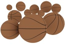basket-ball Illustration de Vecteur