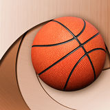 Basket ball  on abstract background Stock Photo