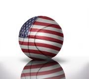 Basket-ball américain Image stock