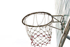 Basket ball board on isolate Royalty Free Stock Image